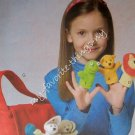 McCall's Crafts Pattern 4944 Finger Puppets and Tote Bag