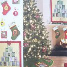 Simplicity Pattern 2488 Christmas Decorations - Wall Hanging, Treeskirt, Stocking, Ornament