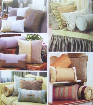 Simplicity Pattern 4108 Decorative Bolsters and Pillows