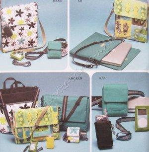 Simplicity Pattern 4391 Bags & Accessories - Messenger Bag, Laptop Bag, Camera Case