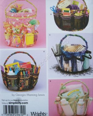 Simplicity Pattern 4232 Bucket Covers