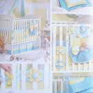 Simplicity Pattern 3795 Nursery Accessories - Quilt, Pillow, Bumpers, Organizer, Dust Ruffle