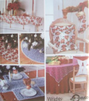 Simplicity Pattern 7023 Holiday Decorations