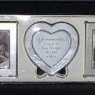 Mother's Day Hallmark Grandmother Set of 3 Photo Frames