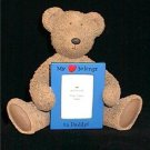 My Heart Belongs to Daddy Bear & Photo Frame