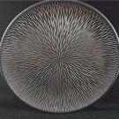 Unique Riveting Home Decor 15.75 Inch Round Wood Platter