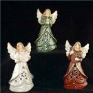 Exquisite Collectible Burton and Burton Set of 3 Porcelain 6 Inch Angels