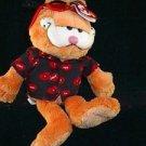 Garfield w/Red Hearts Sunglasses and Shirt
