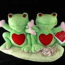 2 Cute Frogs on a Lily Pad Music Animated