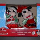 Collectible Animated Mickey and Minnie Mouse Here Comes Santa Claus