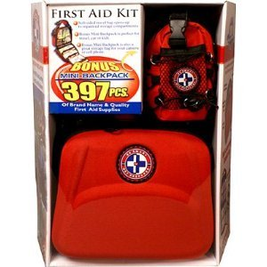 Total Resources First Aid Plus More Kit - 397 Pieces