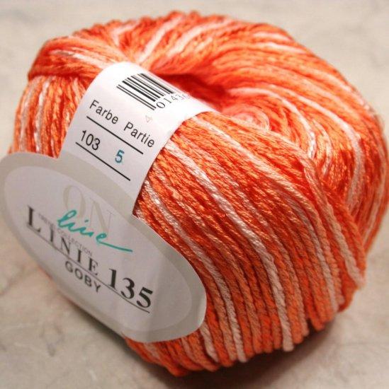 Cotton Blend Yarn Online Yarns Linie 135 Goby #103 Salmons
