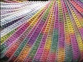 50% Discount on Yarn Beach by Filati FF Italian Ribbon #4001 Spring Multi