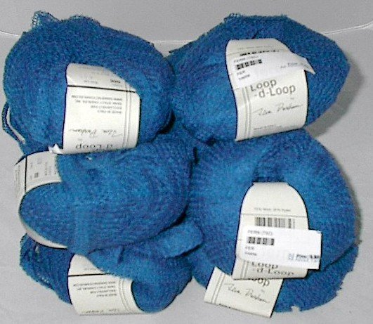 Teva Durham Fern Loop-d-Loop Yarn China Blue (#006)