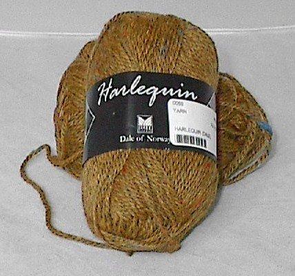 Dale of Norway Harlequin dk Tweed Yarn Autumn Gold (#2537)