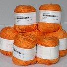 Crystal Palace Mikado Ribbon Yarn Orange (#2677)