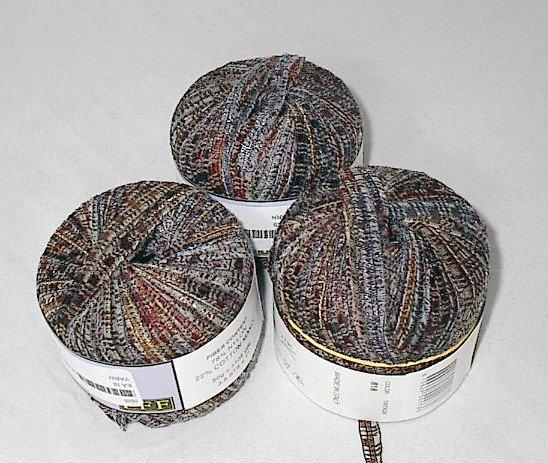 50% Discount on Filatti FF Isis Ribbon Purple Brown (#818) Cotton Blend Yarn