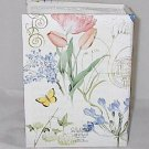 Butterfly and Flowers 6 x 4 inch Photo Holder