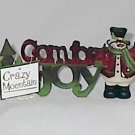 Crazy Mountain Angela Anderson Comfort and Joy A