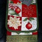 5 Piece Christmas Themed Kitchen Textile Set