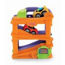 Fisher-price Lil' Zoomers Chase 'N Race Ramps with 4 Cars