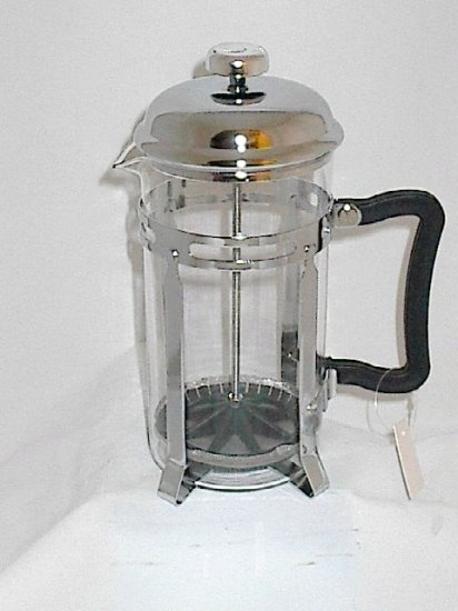 Collectible Orchid Press Pot French Press Coffee Maker