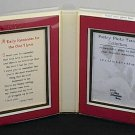 Blue Mountain Arts Poetry Message Photo Frame '..For the One I Love'