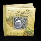 History and Heraldry Miniature Gift Book 'To My Husband With Love'