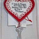Hanging 'Key to My Heart' Gift