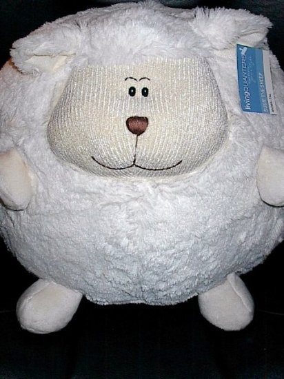 Susie the Sheep 15 Inch Round Animal Pal Pillow Plush