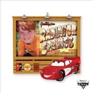 Hallmark Keepsake Ornament Photo Holder 2007 Cars Movie He's #1