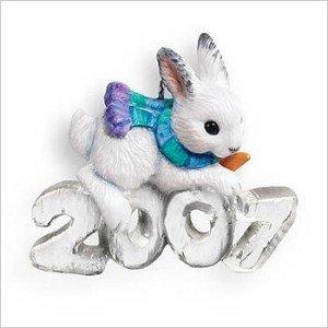 Hallmark Keepsake Ornament 2007 Cool Decade Bunny Rabbit