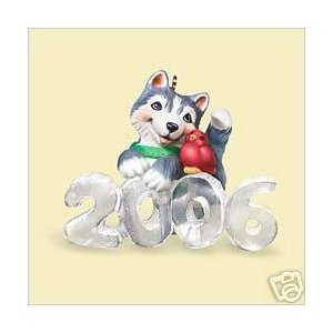 Hallmark Keepsake Ornament 2006 Cool Decade Husky