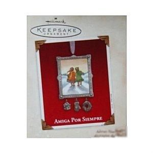 Hallmark Keepsake Ornament 2003 Amiga Por Siempre