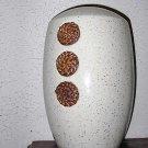 Desert Sand Beige and Browns 13 inch Earthenware Vase
