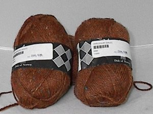 Dale of Norway Harlequin dk Tweed Yarn Russet (#0006)