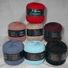 50% Discount on Tahki Dream Wool Blend Yarn Blue #020