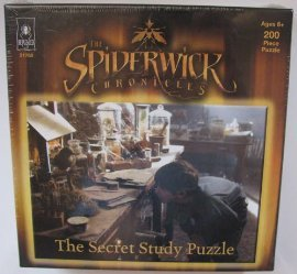The Spiderwick Chronicles Secret Study 200-Piece Puzzle