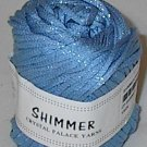 Shimmer by Crystal Palace #4639 Ocean Blue Yarn