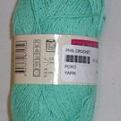 Phildar Phil Crochet Cotton Yarn Veronese Green (#0007)