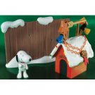 Peanuts Snoopy Doghouse Display with Lights and Sounds