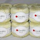 Gedifra Ayala Italian Yarn #2208 Pale Yellow Citron