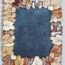 Custom-made Handcrafted Wood Fall Leaf Leaves Photo Picture Frame