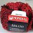 Mondial Arkano Trendsetter 858 Black, Red Yarn Free Shipping Offer