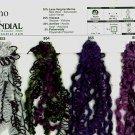 Mondial Arkano Trendsetter 857 Black, Purple Yarn Free Shipping Offer