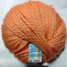 Ornaghi Filati Peluche 100% Superfine Merino Yarn #58 Peach Orange
