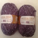 Moda Dea Silk 'n Wool Blend 4278 Plum Yarn