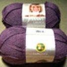 Lion Brand Vanna's Choice Yarn 146 Dusty Purple