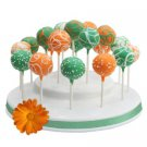 Reusable Popztee Cake Pop Stand and Display Holds 19 Cake Pops