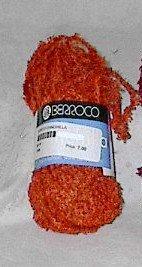 Berroco Chinchilla #5520 Persimmon Orange Yarn Loom Knit Crochet